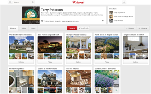 Tpnewhomes Pinterest