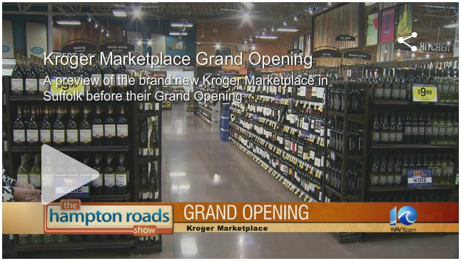 Kroger Marketplace Grand Opening Coverage