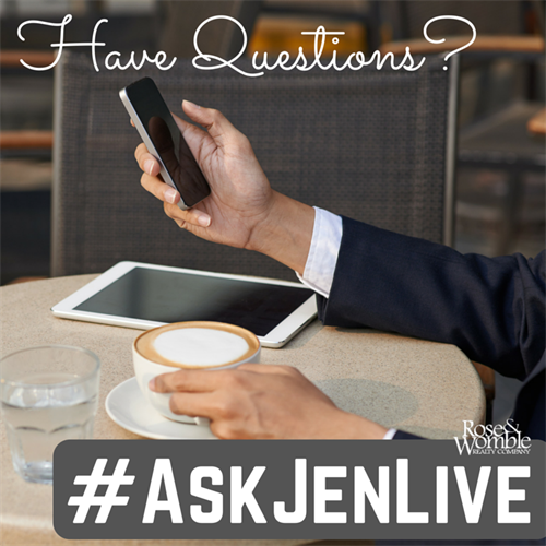 #Ask Jen Live Visits North Shore At Ridgely Manor2
